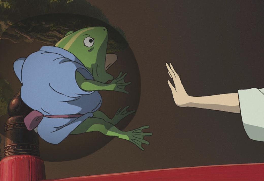 千と千尋に登場する青蛙の正体は?